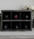 elegant wine rack