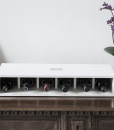 Vesoto linear flat wine rack