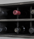 trendy wine rack kitchen