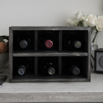elegant wine rack