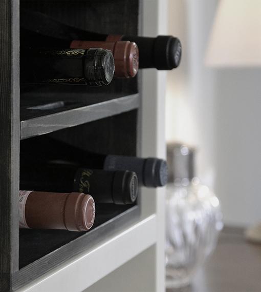 wine rack book case