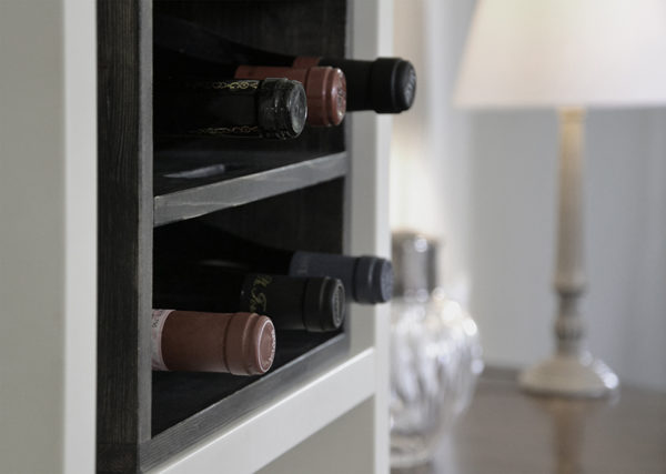 wine rack book case