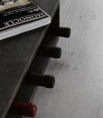 Vesoto flat wine rack with monocle